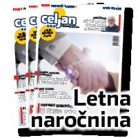 Letna naročnina na časopis CELJAN